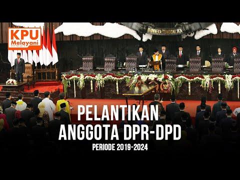 Pelantikan Anggota DPR-DPD Periode 2019-2024