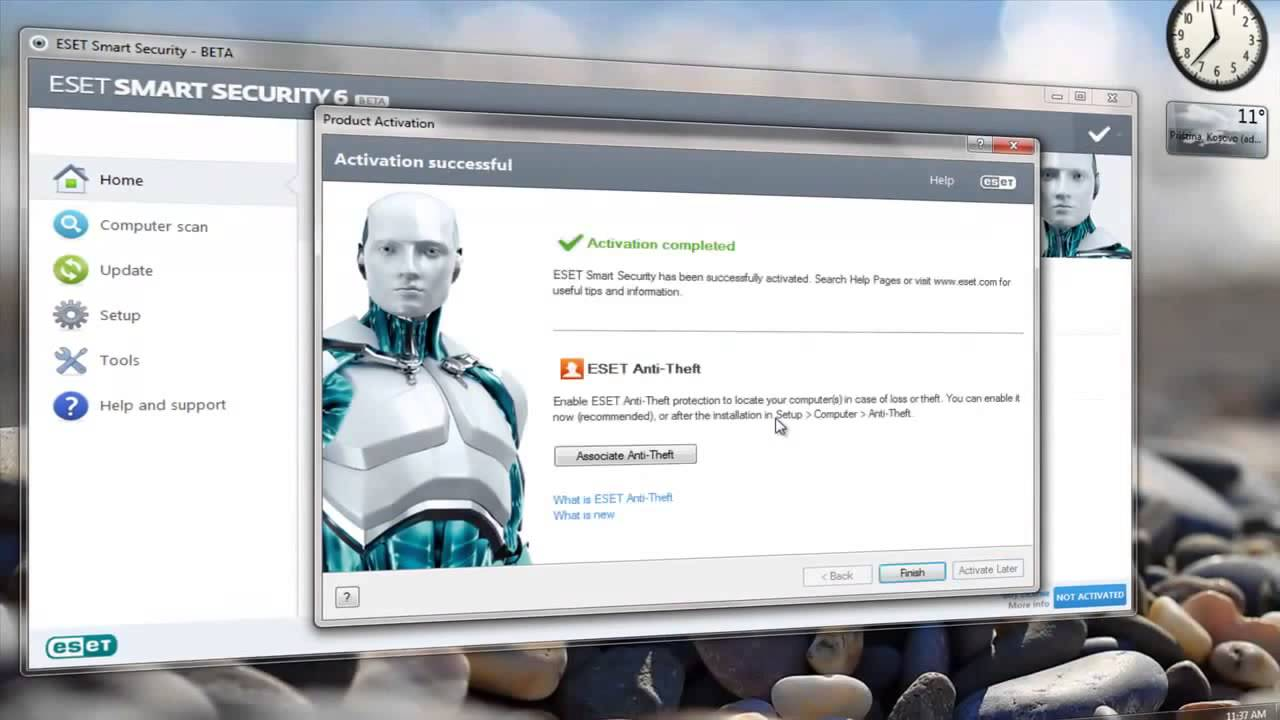 Eset Smart Security 5 Free Trial Key