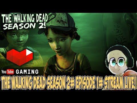 CLEM IS ALONE NOW | The Walking Dead Season 2# Episode 1 & 2# STREAM!