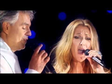 Celine Dion & Andrea Bocelli - The Prayer (NYC Central Park 2014)