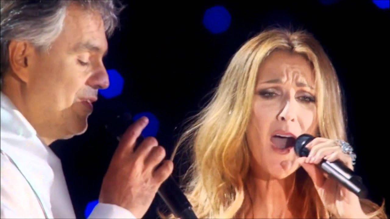 Celine Dion & Andrea Bocelli - The Prayer - YouTube