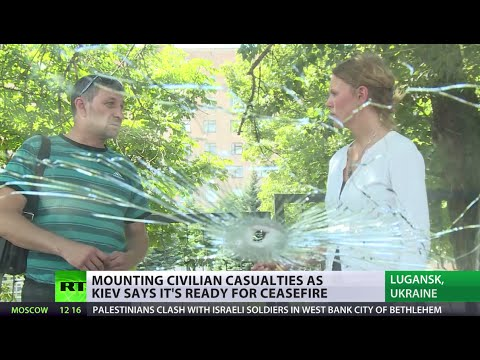 War zone: Civilian deaths double Ukrainian military casualties