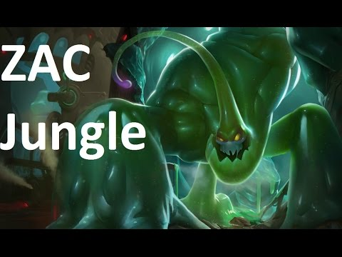 Season  Zac Jungle Build