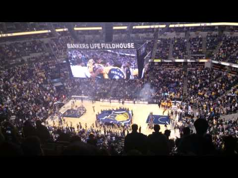 Indiana Pacers Intro 12/31/13