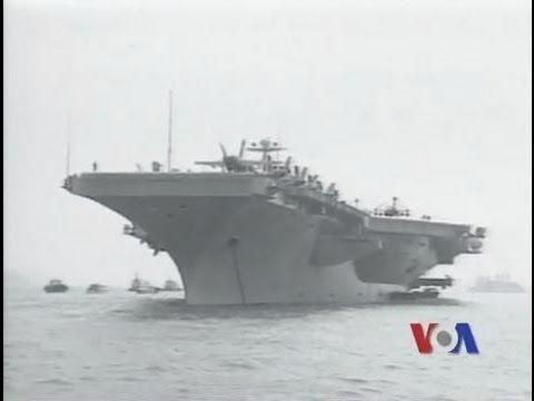 Hàng không mẫu hạm Mỹ hoạt động tại Biển Đông