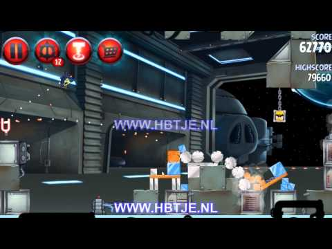 Angry Birds Star Wars 2 Naboo Invasion p1-9 3 stars
