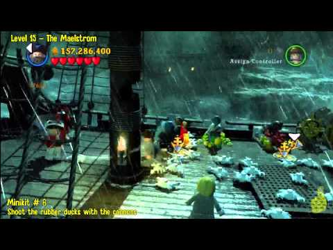 Lego Pirates of the Caribbean: Level 15 The Maelstrom - FREE PLAY (Minikits and Compass Items) - HTG