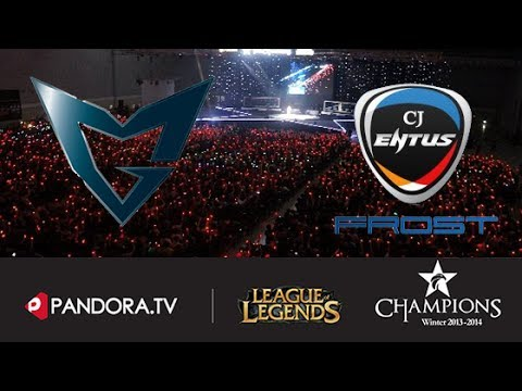 Samsung Blue vs SKT T1 K Highlights - OGN Winter 2013-14 Quarterfinals