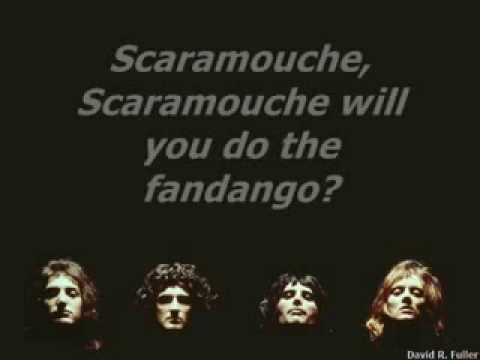 Chords for bohemian rhapsody The Queen best karaoke ...