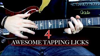 4 Awesome Tapping Licks