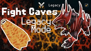 2014 LEGACY MODE Guide To Fight Caves + Jad! CURRENT INFO