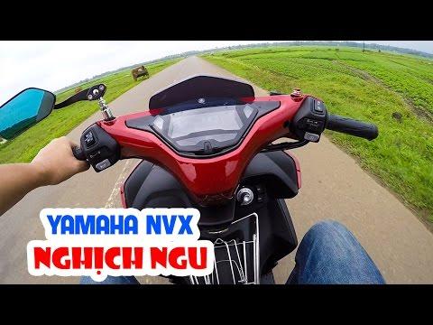 Yamaha NVX 125cc ▶ Test tăng tốc và nghịch ngu cùng xe tay ga!
