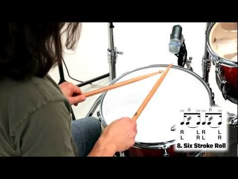 Pearl Drum Rudiments - 6 Stroke Roll
