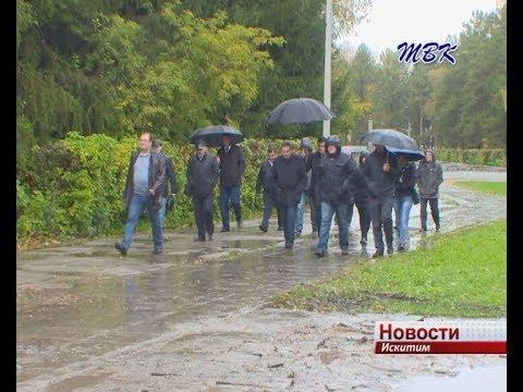 Губернатор раскритиковал ход ремонтных работ на дорогах Искитима