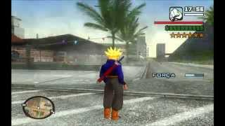 DRAGON BALL SKIN (TRUNKS SUPER SAYAJIN) GTA SAN ANDREAS