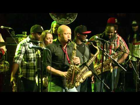 The Soul Rebels SAX JAM ft Karl Denson/Casey/Niswanger/Fouche -