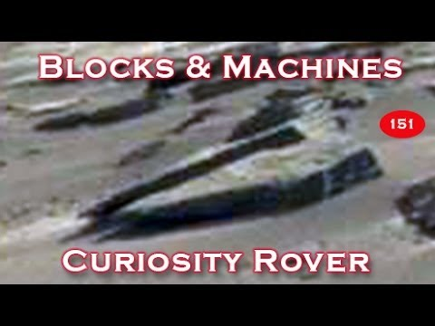 Amazing Cut Blocks & Machines In New NASA Curiosity Rover Photos!?