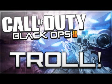 Black Ops 2 Zombies Trolling - NEW UPRISING DLC GLITCH TROLL!