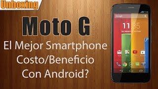 Unboxing Motorola Moto G 16gb En Español