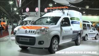 Fiat Na Fenatran 2013 Apresentação Linha Comercial