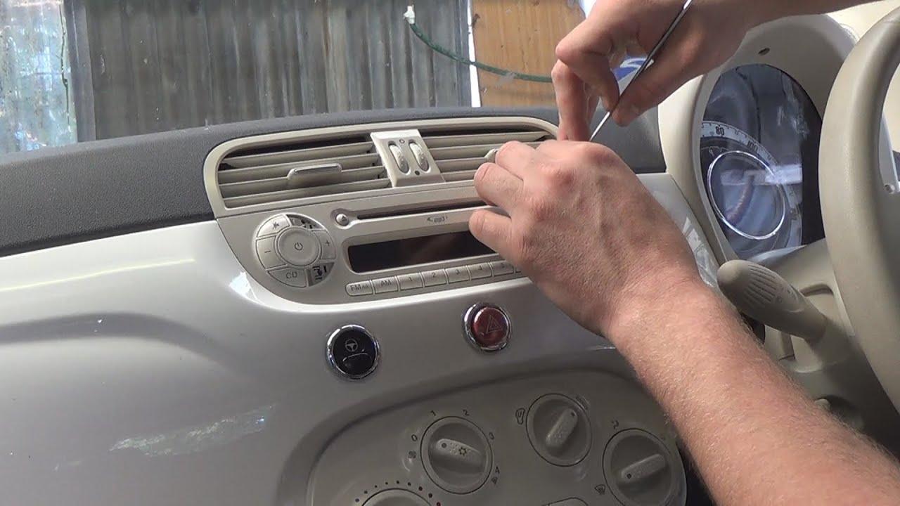 Fiat grande punto car audio aux in adapter 13