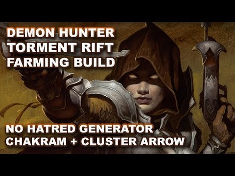 Diablo 3 RoS: No Hatred Generator Demon Hunter Build (UPDATED) Torment Farming