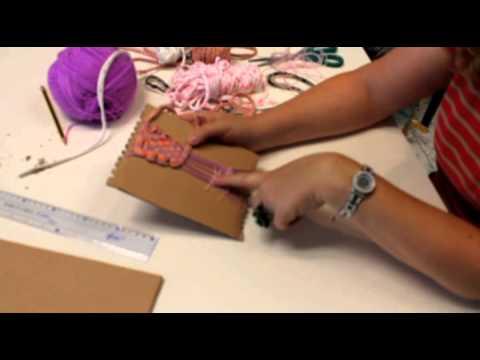 Star Arts&Crafts: telar fácil para niños