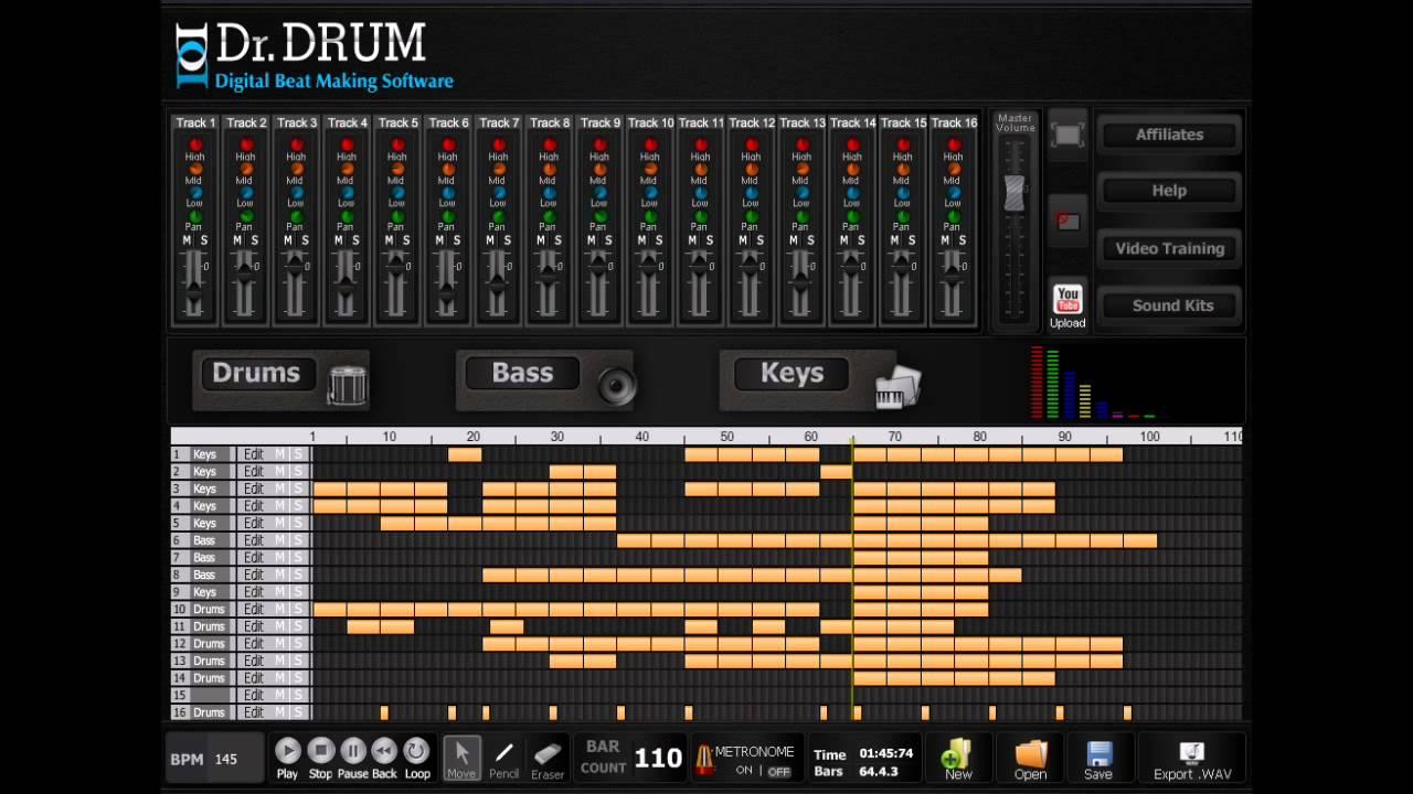 beat maker software free download full version pc