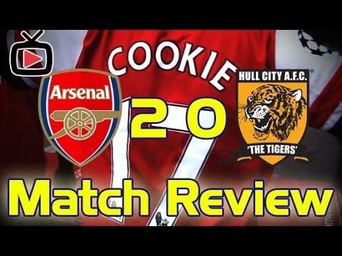 Arsenal FC 2 Hull City 0 - Cookie's Match Review - ArsenalFanTV.com