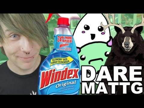 Dare MattG - 38 ( Drinking windex in public prank, Victorias secret, Ghosts)