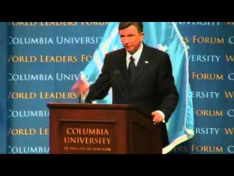 World Leaders Forum: Borut Pahor, President of the Republic of Slovenia