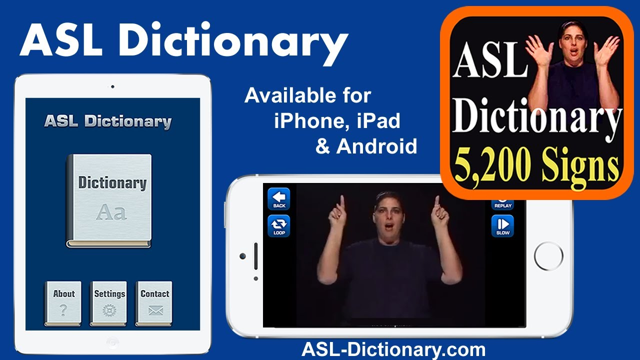 ASL Sign Language Dictionary - Search