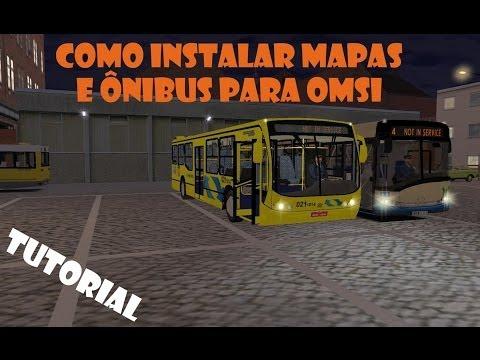 Como instalar Mapas e Ônibus para OMSI