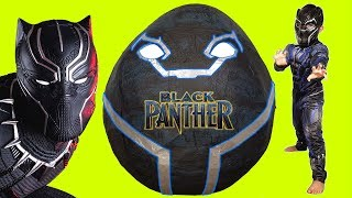 Black Panther Giant Toys Surprise Egg