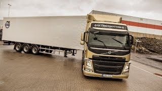 Volvo Trucks Demonstration Of The Unique Technology