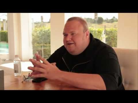 Kim Dotcom on Mega, Hollywood, Internet & Copyright Enforcement