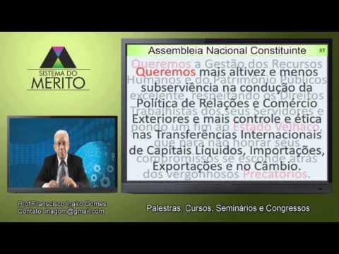 POL.12 - Convocação da Assembleia Nacional Constituinte Popular e Ética POÉTICA