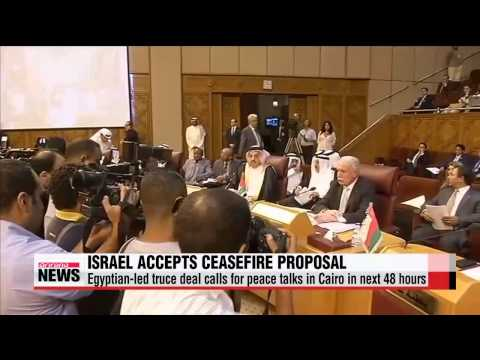 Israel accepts Egyptian proposal for ceasefire in Gaza