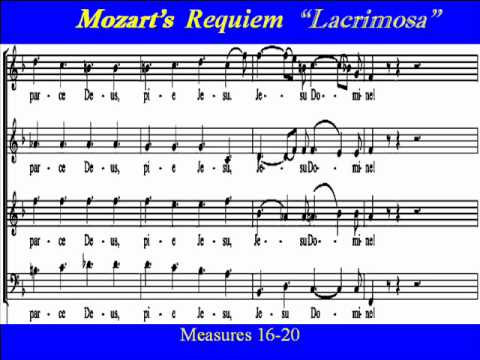 lacrimosa mozart lyrics: