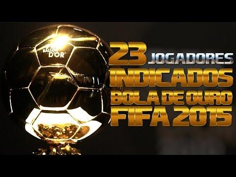 FIFA BALLON D'OR 2015 - 23 BEST PLAYERS OF 2014 - PRÊMIO BOLA DE OURO FIFA 2015
