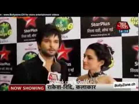 RaQesh Ridhi talk about their concept for act 5 on Nach Baliye (SBB)