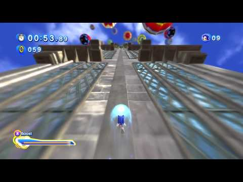 Sonic Generations (360) - Rooftop Run: Act 2 Playthrough (S-Rank)