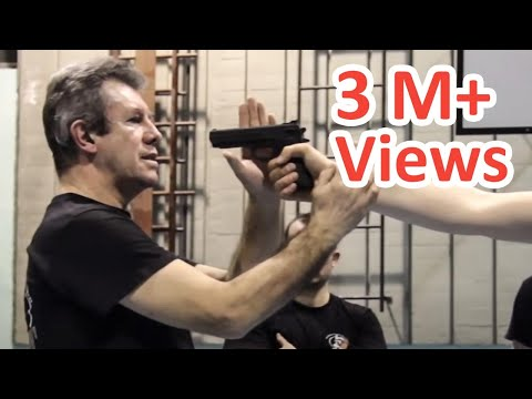 KRAV MAGA TRAINING • the fastest gun disarm