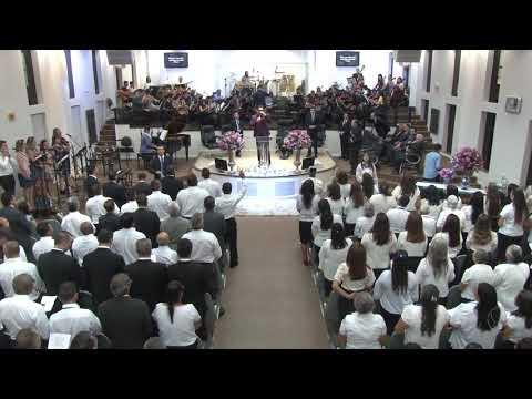 Círculo de Oração AD Içara e Orquestra Sinfônica Celebração - Deus é Deus - 07 04 2018