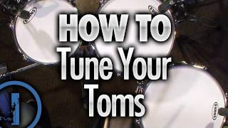 How To Tune Your Toms Drum Lessons