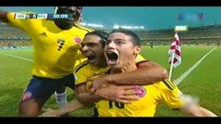 Colombia Vs Ecuador 1-0 Gol De James Rodriguez 06