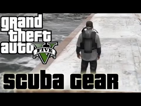 ★ GTA 5 - How to Get Scuba Gear | Location