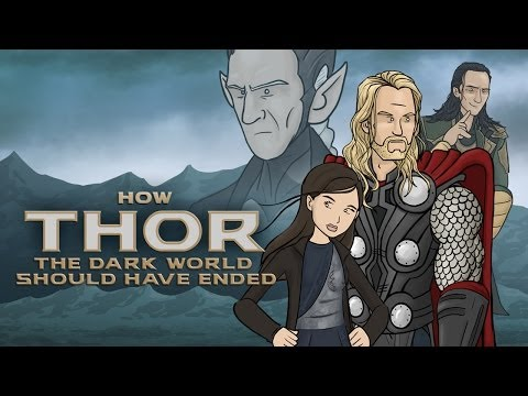 How Thor The Dark World Should Have Ended, If Loki is the ultimate trickster, would anyone ever trust anything he does or says? Thor sure does! So much so that he doesn't even check for a pulse or try to bury him. This video reveals how Thor: The Dark World could have ended if it were different.