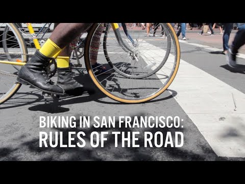 Urban Bicycling Basics: Rules of the Road