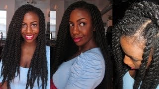 Cooking | Havana Marley Twists Tutorial using the Natural Looking Invisible Roots Method better sound | Havana Marley Twists Tutorial using the Natural Looking Invisible Roots Method better sound